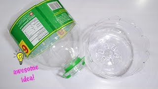 Amazing Way To Recycle/Repurpose Plastic Bottles  Best Out Of Waste