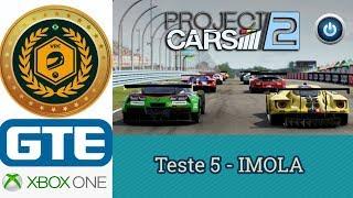 Teste 5 - 2º Campeonato VRC 2018 - Categoria GTE