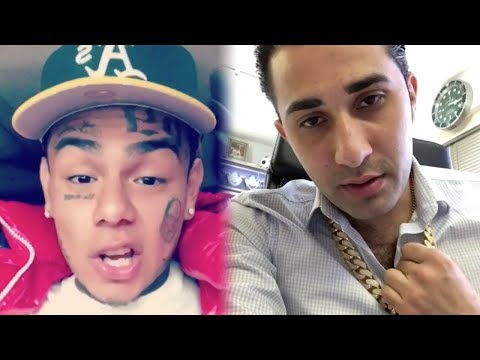 6ix9ine Confronts Jeweler On The $25,000 He Owes Him