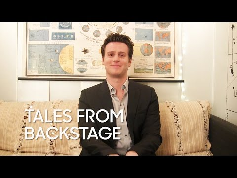 "Tales from Backstage: Jonathan Groff in ""Hamilton"""