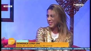 Annalaura Gaudino Domenica Luna Live puntata del 18/12/2016