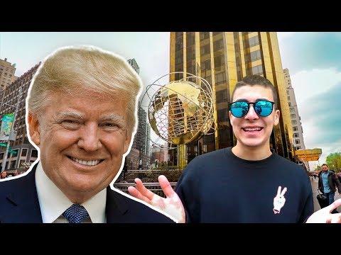 Visitando el HOTEL DE ORO de TRUMP en NUEVA YORK!! (5 ESTRELLAS)