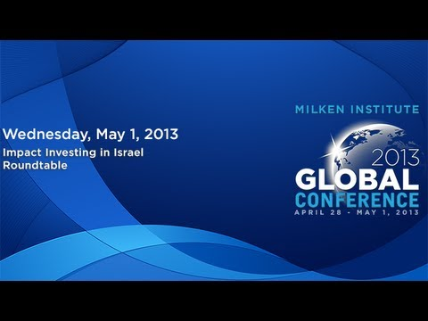 Impact Investing in Israel Roundtable