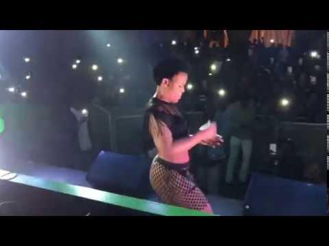 Zodwa Wabantu in Bloem DJ Tira
