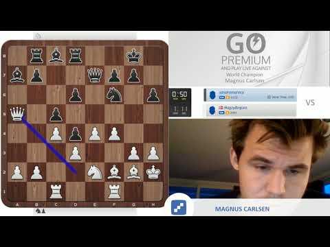 Magnus Carlsen vs. Sandro Mareco
