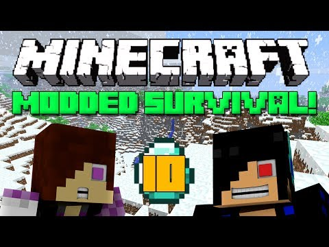 Finding a New Home [Minecraft Modded Survival: Episode 10]
