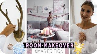 XMAS Wohnzimmer INSPIRATIONEN - SO bekommt Ihr die perfekte Weihnachtsdeko | 4k | AnaJohnson