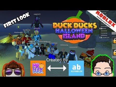 Roblox - Duck Duck's Halloween Island - First Look