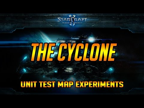 Cyclone Unit Test Map Experiments Post Patch 8th Dec 2016