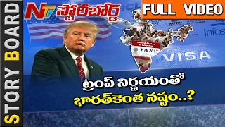 how donald trump s action on h1b visa effect indian nri s in usa    story board    full    ntv