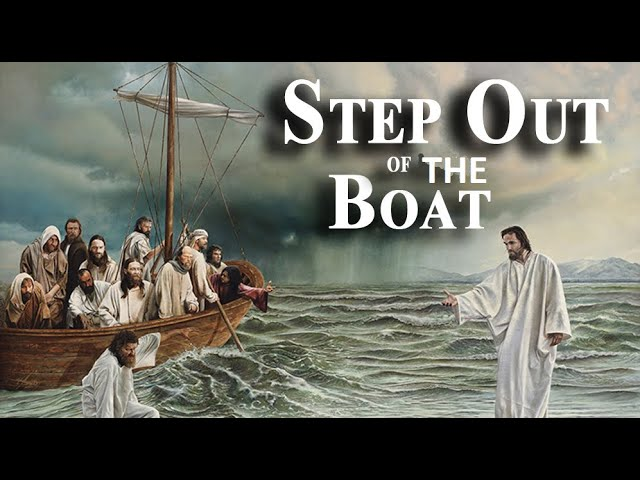 Step out of the boat   HD 720p