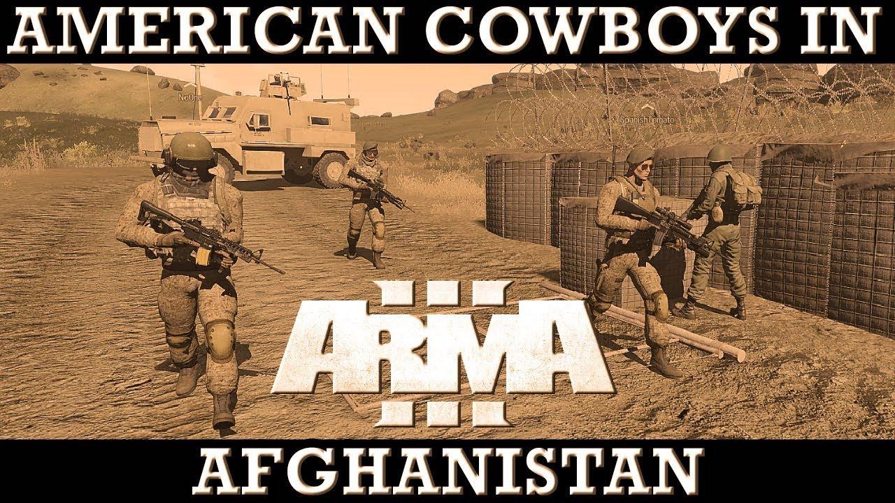 American Cowboys in Afghanistan | ArmA 3 Fustercluck