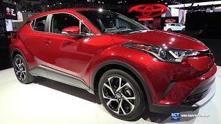 2018 Toyota C-HR Crossover - Exterior and Interior Walkaround - Debut at 2016 LA Auto Show