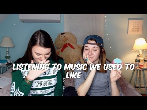 REACTING TO SONGS WE USED TO LOVE