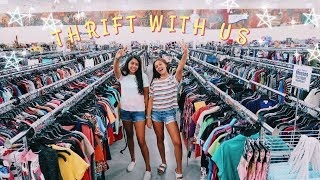 Come Thrift With Us! | Thrift flip + Haul!