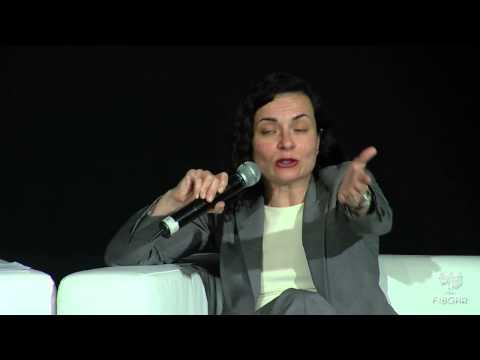 Almudena Bernabéu, lawyer and Human Rights expert