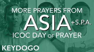 Day of Prayer and Fasting (2): Asian and S.P.A. Disciples pray | International Churches of Christ