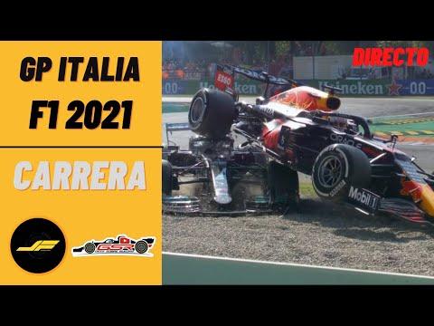 🔴DIRECTO: GP ITALIA F1 2021 | @JaramaFan y @Geek Sobre Ruedas  EN VIVO