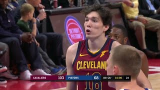 Cedi Osman'ın 7 sayı, 4 rbd, 1 ast, 1 blok ile oynadığı Detroit Pistons maçı performansı