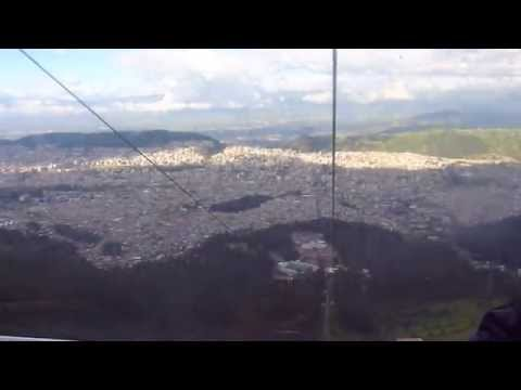 Day9 (Quito) - cable car TelefériQo back 3DOWN - 10 Day Ecuador & Amazon Adventure (May 2014)