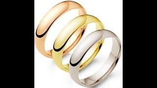 Белое, желтое, розовое золото. В чем разница.