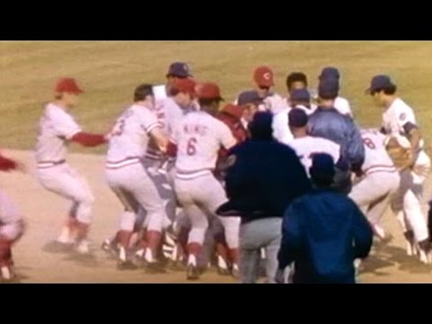 NLCS Gm3: Harrelson and Rose scuffle at second base