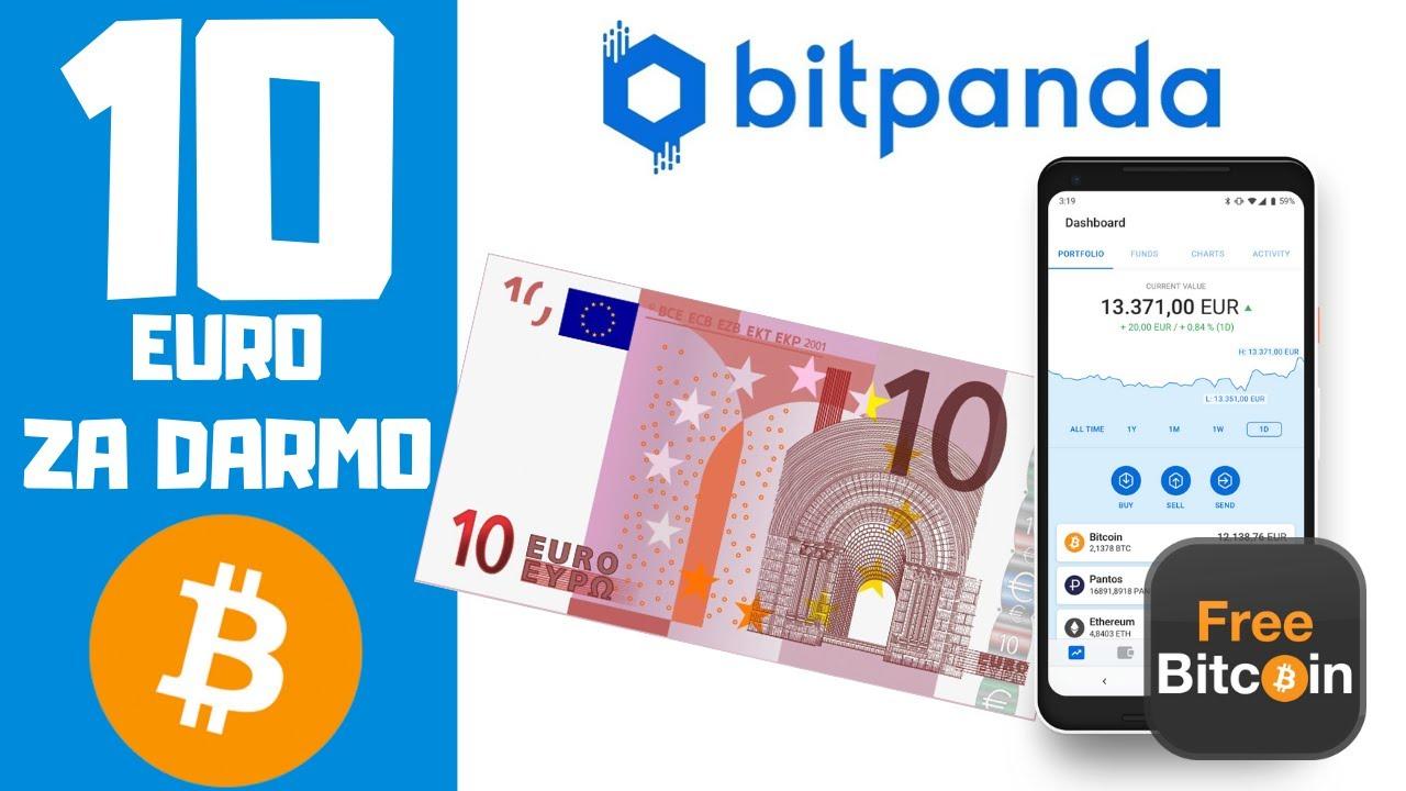 Bitpanda BONUS 10 EURO w Bitcoin Instrukcja i Weryfikacja