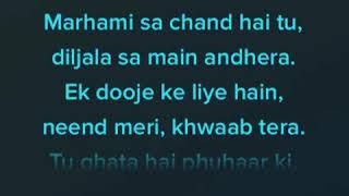 Dhadak title song Karaoke - dhadak background music with lyrics