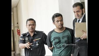 Man who hit GrabFood rider sent to prison after failing to post bail