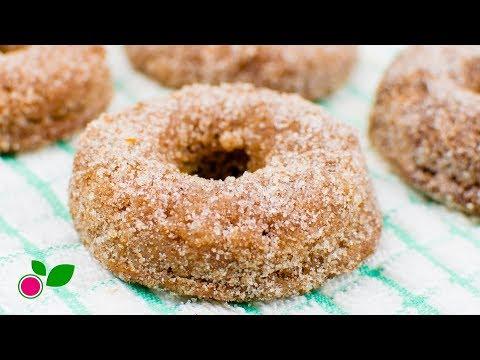 🍩 Cinnamon Donuts | LowCarb | Gluten & Sugar Free | Yo +Green
