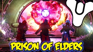 Destiny House of Wolves - HARD MODE Prison of Elders Gameplay! (Prison of Elders Gear & Rewards)