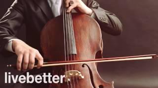 古典音樂的大提琴獨奏大提琴古典音樂放鬆,學習,工作