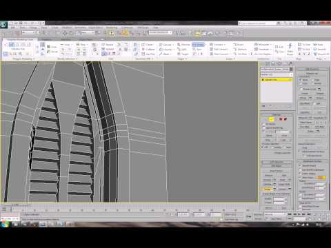 Modular Buildings in 3ds Max - 003 the windowed wall