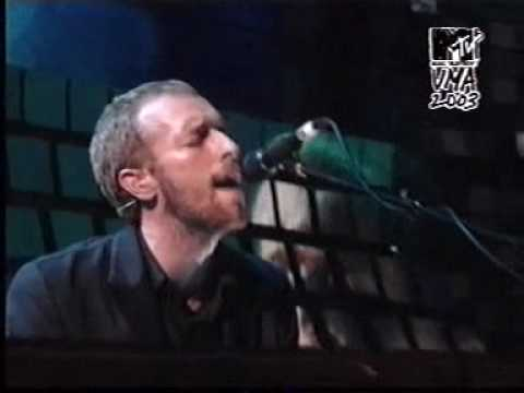 Coldplay   The Scientist  @ Mtv VMA 2003