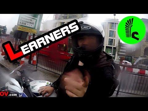 Random Compilation 125 - ft: learner vs biker close call