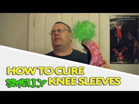 How to Cure Smelly Knee Sleeves