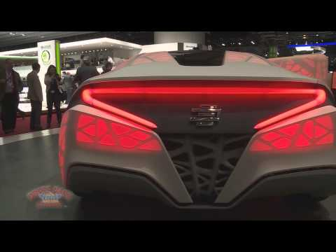 2015 Geneva Motor Show - 3D Printed Car Goes On Display