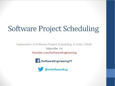 project-scheduling-in-software-engineering-|-project-management