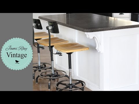 How to Trim A Kitchen Island Using Corbels