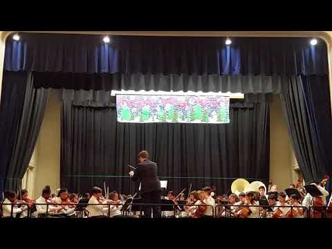 2018 winter concert in Wheeler avenue school