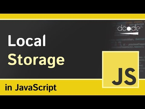 How to use Local Storage in JavaScript
