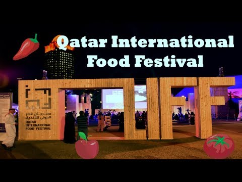 Qatar International Food Festival 2018. Fireworks ending