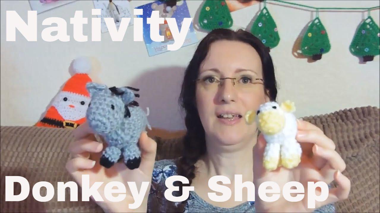 Crochet Nativity Animals | Boże narodzenie, Wystrój ... | 720x1280