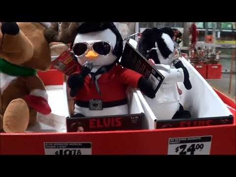 Home Depot Christmas decorations 2017