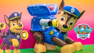 PAW PATROL Nickelodeon Paw Patrol Mission Chase Paw Patrol Video Toy Review