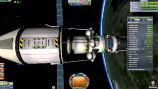 Kerbal Drilling Corporation - Kerbal Space Agency Station - Episode 6 (Mode Carrière) [FR]