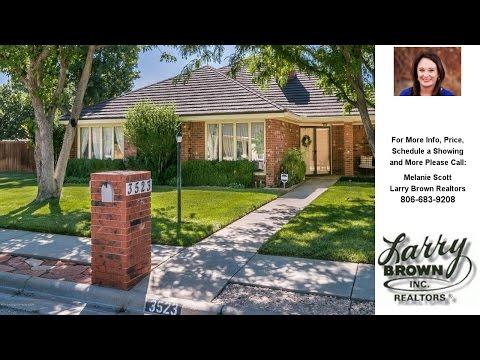 3523 Sleepy Hollow Blvd, Amarillo, TX Presented by Melanie Scott.
