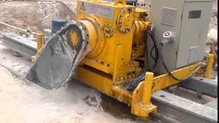 rock cutting chain saw and quarry chain saw machine