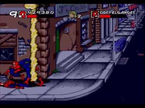Spider - Man and Venom: Maximum Carnage - Complete Walkthrough (Sega Genesis)