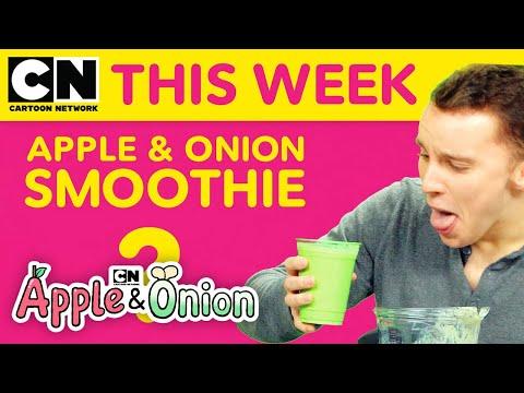 Apple & Onion Smoothie Challenge | Cartoon Network This Week